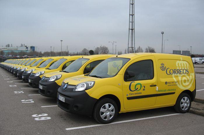 Renault Kangoo eléctrico para Correos