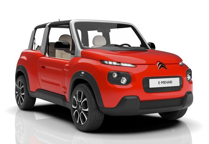 Citroën Mehari Eléctrico, regreso al futuro