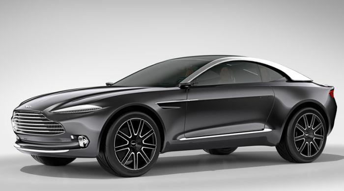 Aston Martin DBX Concept in Paris
