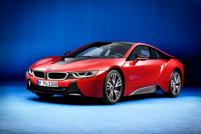 BMW i8 Protonic Red Edition, serie especial