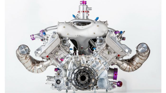 Porsche 919 Hybrid innovative engine