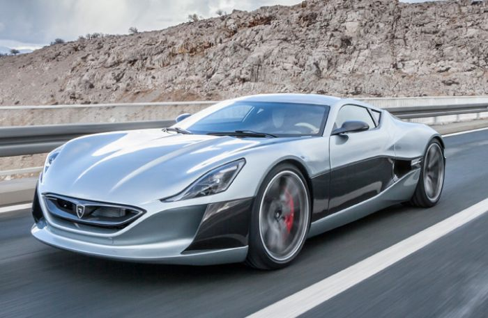 Rimac presents Concept One hypercar at Geneva