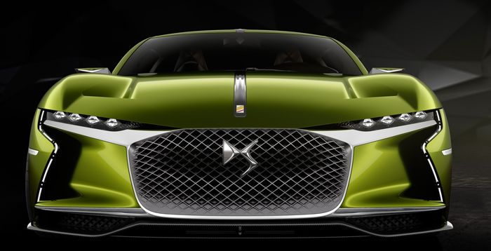 DS presents the E-Tense