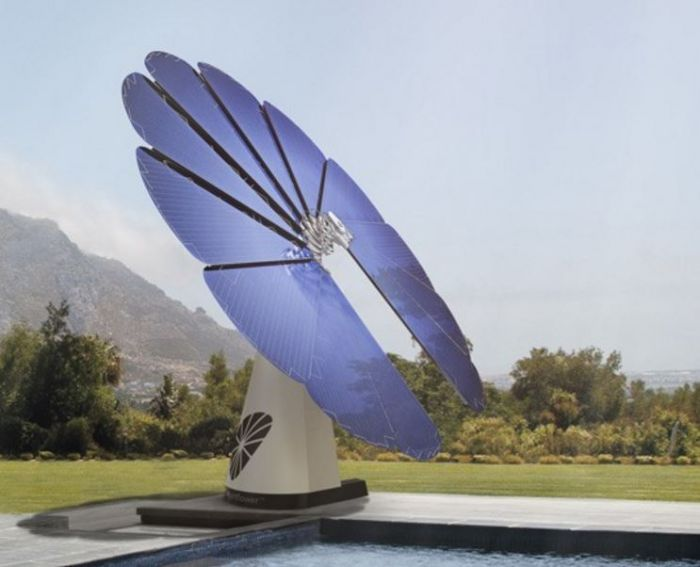 Smartflower, the intelligent solar flower