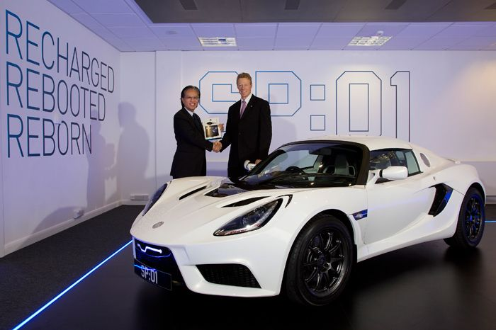 First production Detroit Electric sport car for China