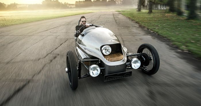 Morgan presents electric Threewheeler