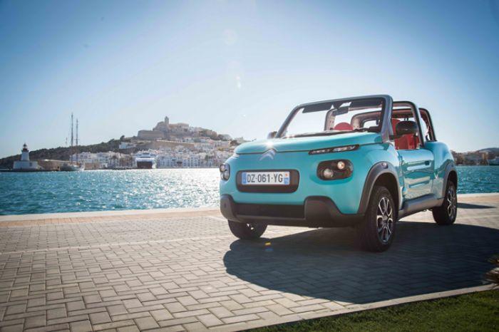 El Citroën Mehari eléctrico ya se fabrica