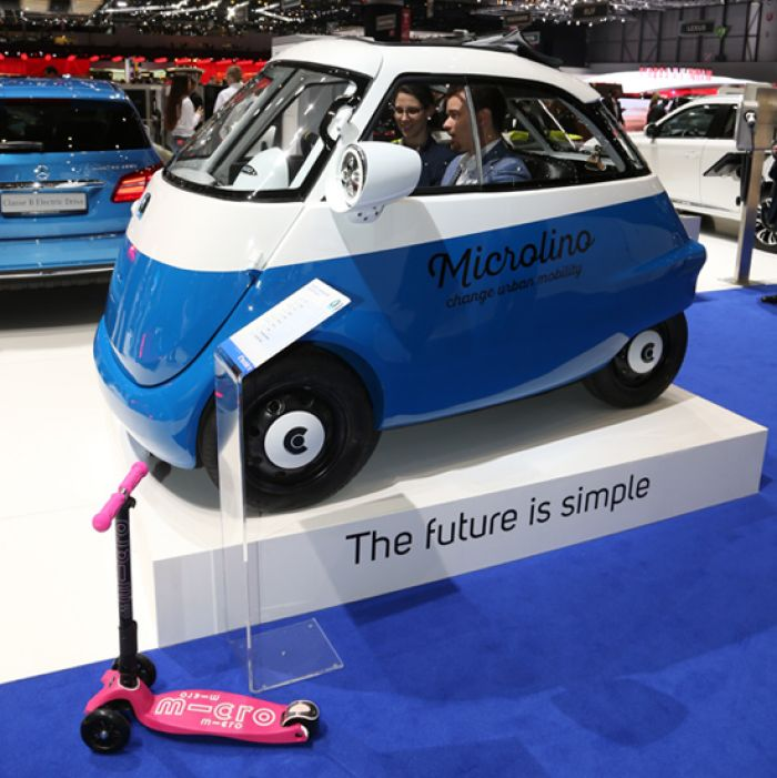 The bubblecar revives with electric Microlino