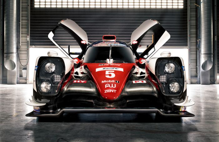 Toyota Gazoo revealed TS050 Hybrid