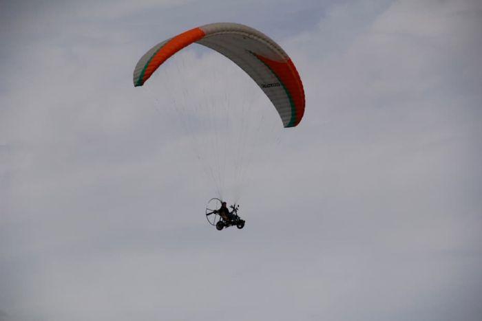 Primer vuelo del Skyrider One en La Palma