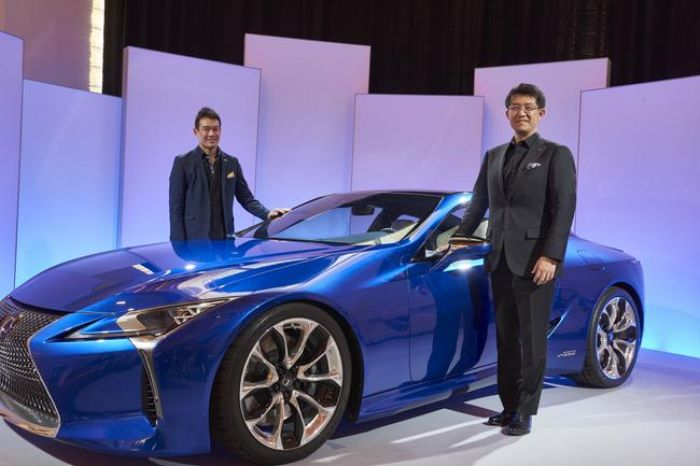 Lexus LC, from visionary concept to road-going car
