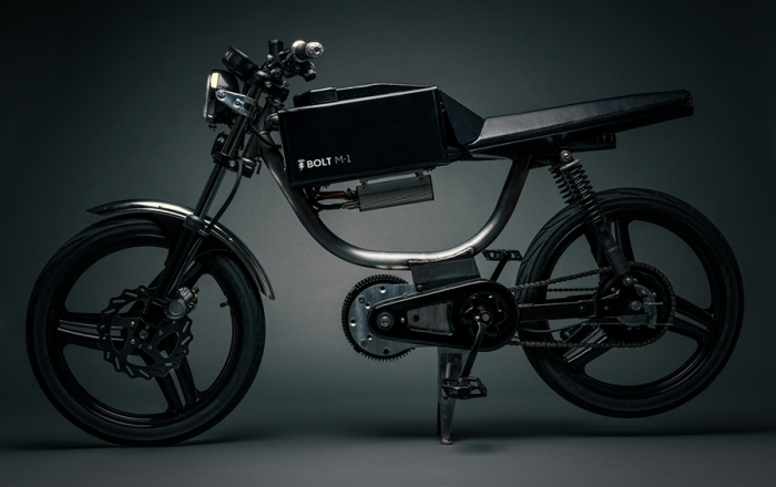 Bolt M-1 Una motocicleta bicicleta eléctrica
