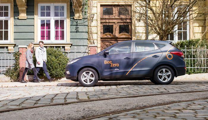 Hyundai ix35 Fuel Cell para carsharing