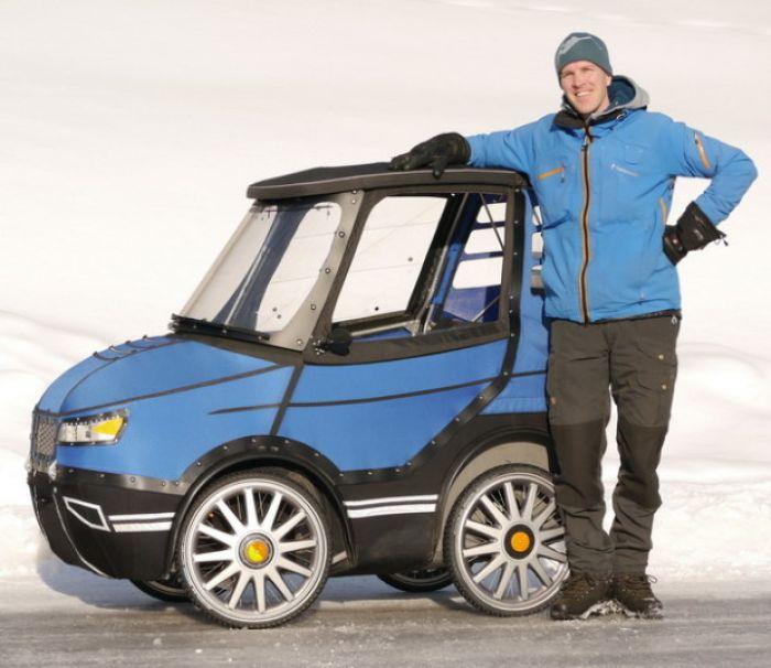 PodRide una bici/coche eléctrico