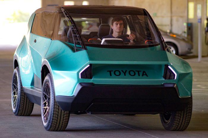 Toyota uBox, prototipo para la Generación Z