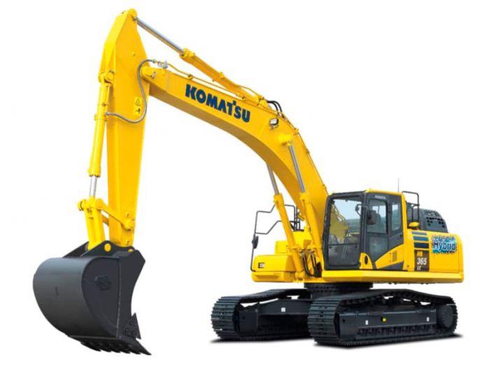 Komatsu presenta una nueva excavadora híbrida