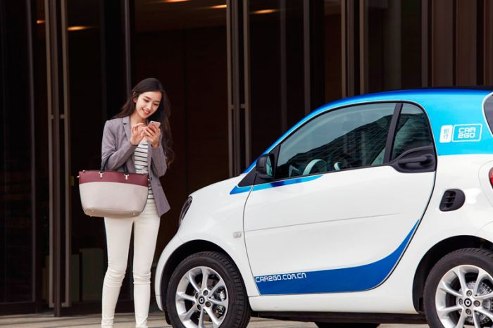 Car2go en China