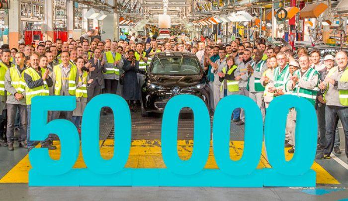 50.000 Renault Zoe