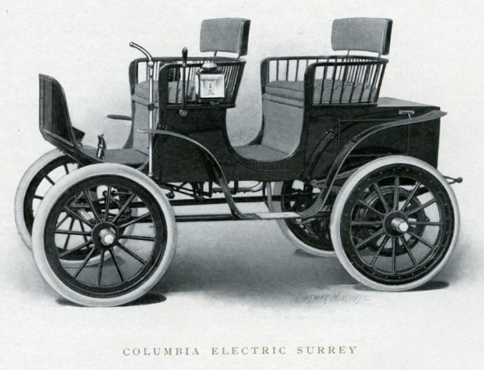 Columbia Electric Carriages from 1905