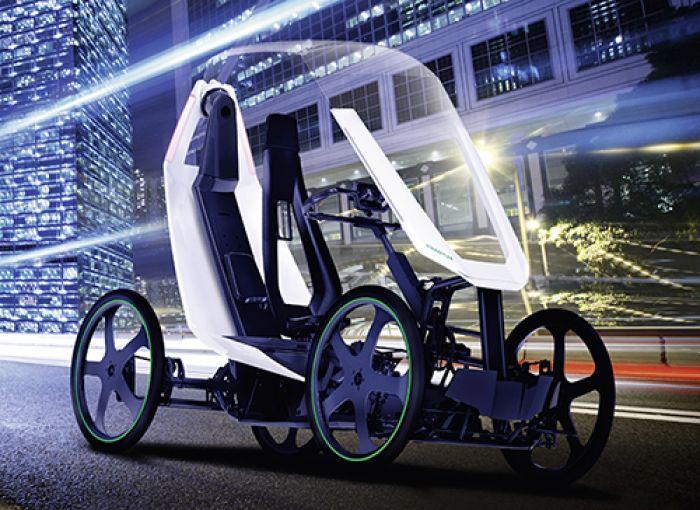 Bicicleta bio-híbrida de Schaeffler