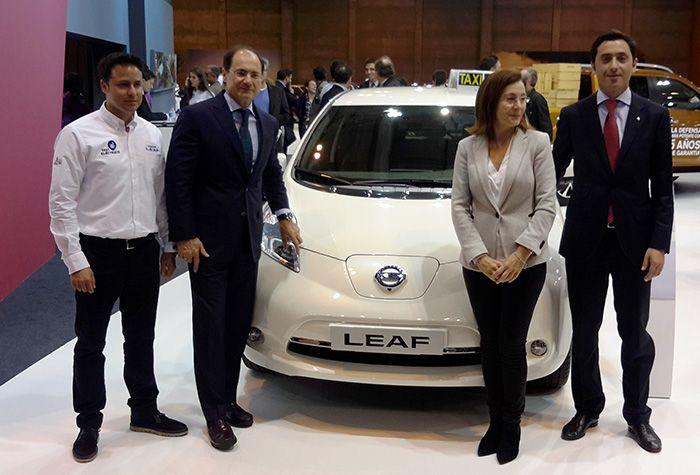La Cuidad del Taxi (Madrid) con Nissan Leaf