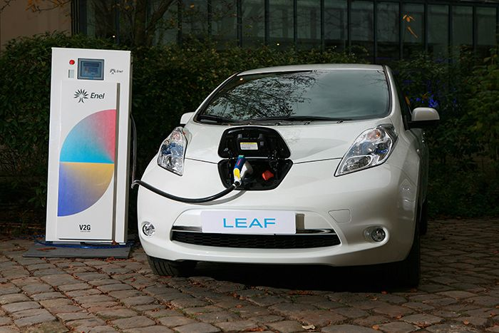 Nissan and Enel launch Vehicle-to-Grid