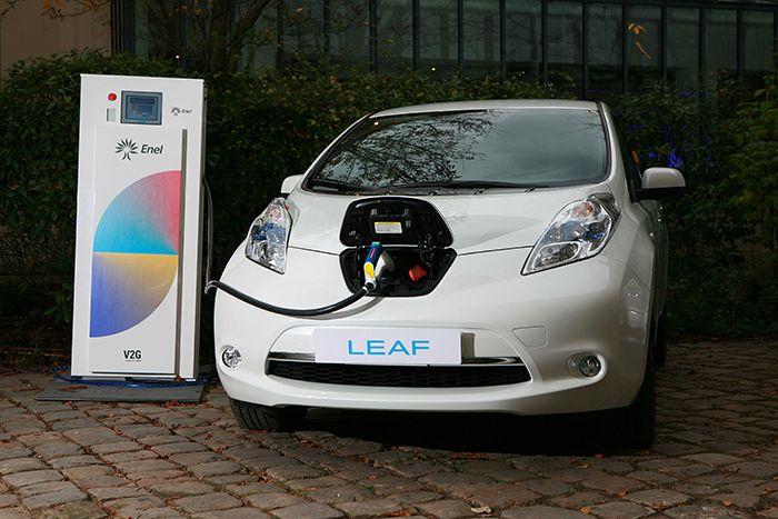 Nissan y Enel y el Vehículo Conectado a la Red