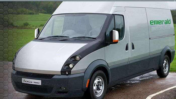 Emerald Van to be built in US and UK