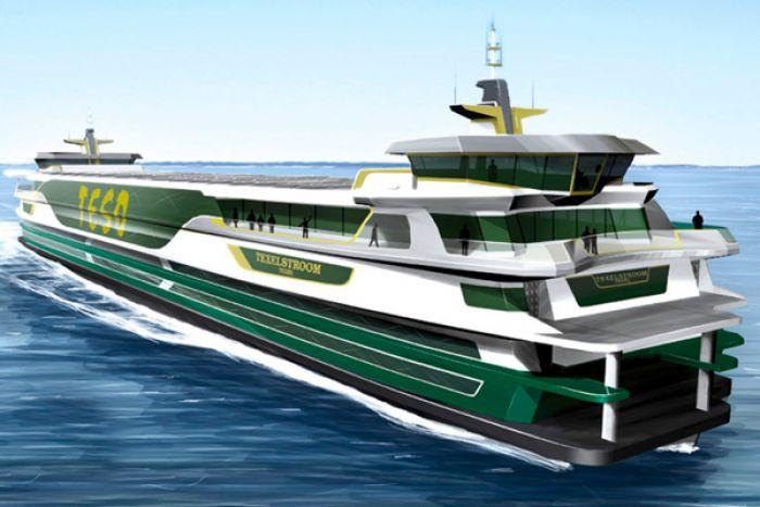 Texelstroom, a hybrid ferry
