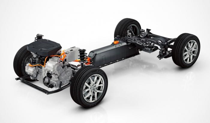 Nuevos Volvo de arquitectura innovadora