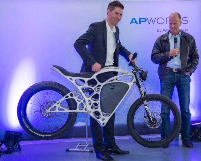 New ultralight electric motorcycle from Airbus