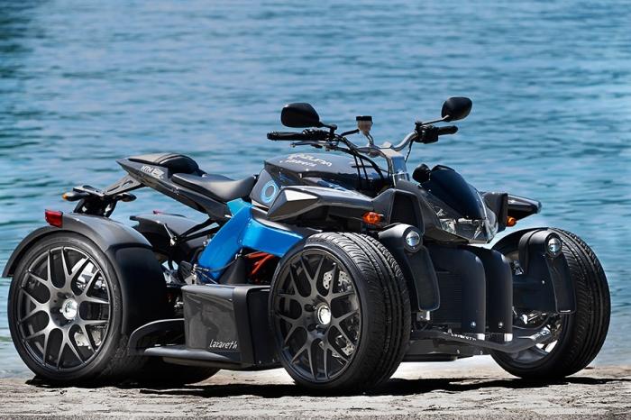 E-Wazuma, una moto/quad eléctrica