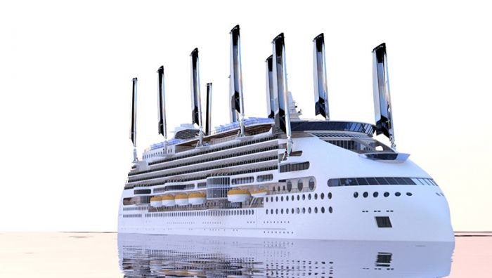 Ecoship, the world`s greenest cruise ship