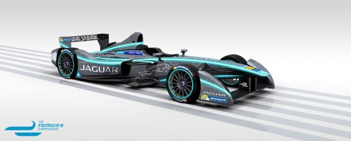 Jaguar vuelve a las carreras - a las eléctricas