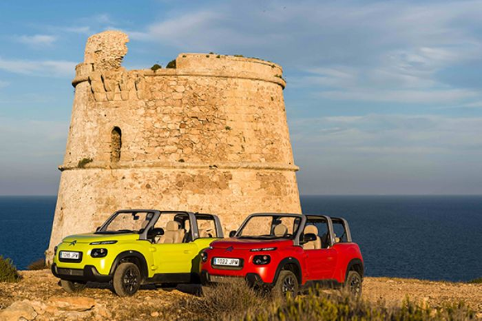 Citroën e-Mehari, ambassador for Formentera