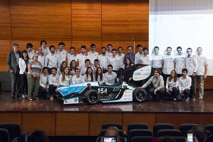 El CAT09e, un monoplaza eléctrico para la Fórmula Student