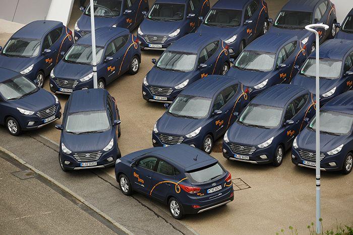 50 Hyundai ix35 Hidrógeno para Car Sharing