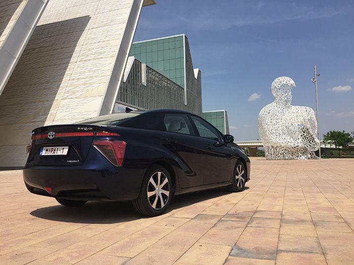El Toyota Mirai con hídrógeno en España