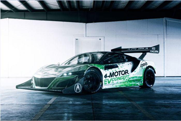 Honda NSX Concept eléctrico para circuito
