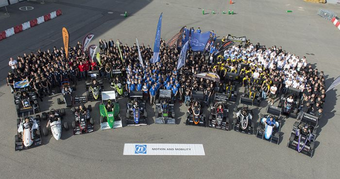 ZF Race Camp Dominated by Electric Race Vehicles