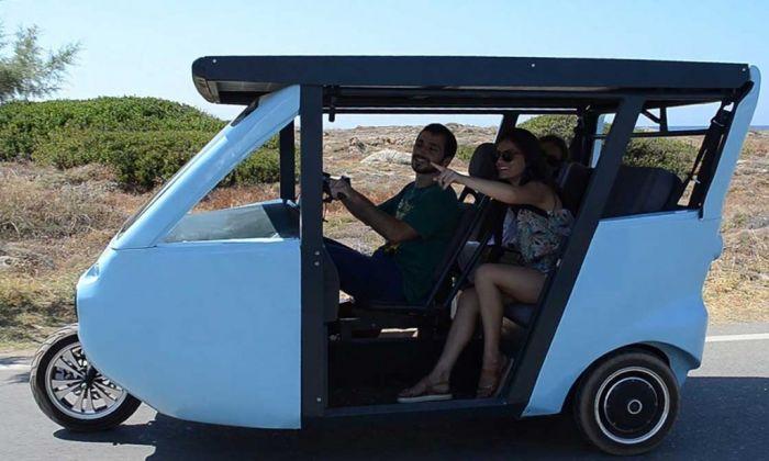Sunnyclist vehículo sostenible de otro nivel