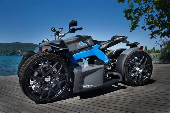 E-Wazuma un prototipo de Moto de 4 ruedas