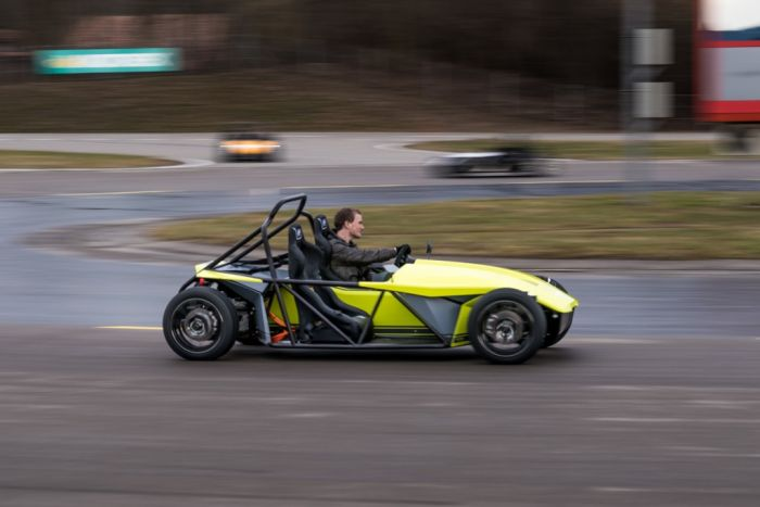 Kyburz eRod: electric fun drive on all roads