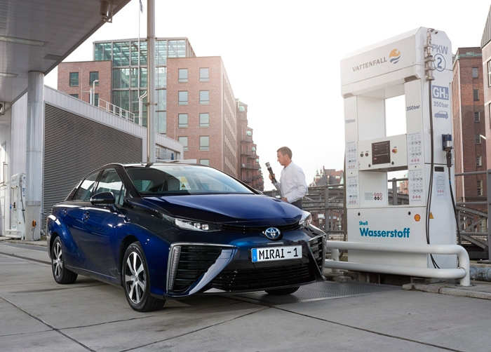 Toyota Mirai can be ordered