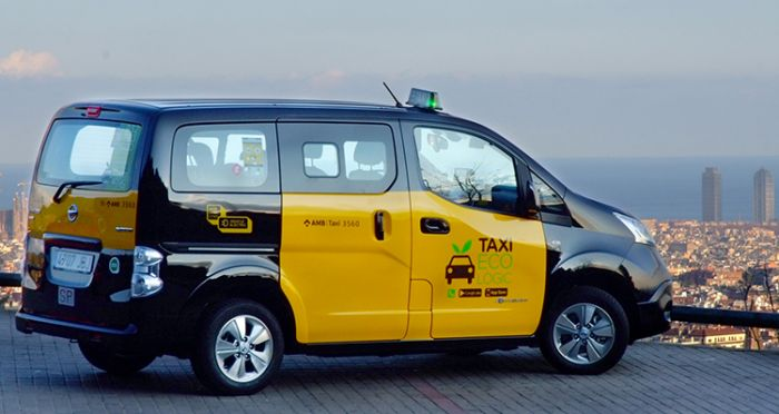 Taxi Ecològic in Barcelona