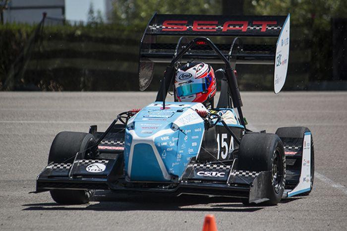El CAT09e eléctrico se estrena en la Fórmula Student