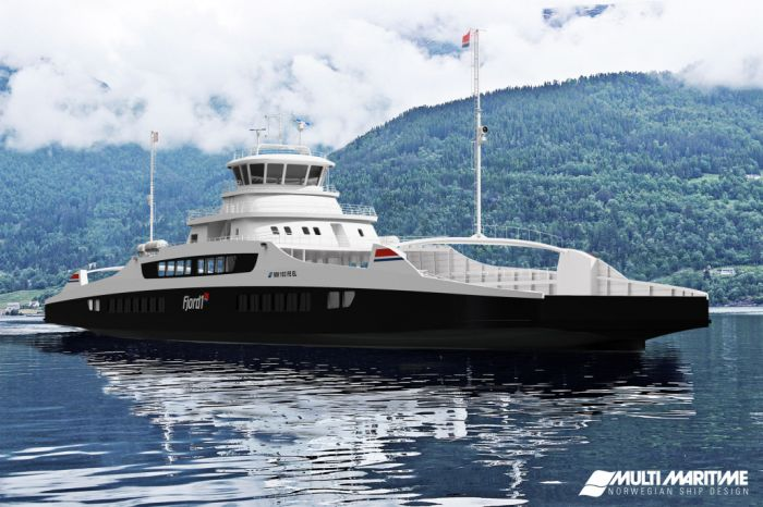 Two battery ferries for Norwegian E39 Anda-Lote line