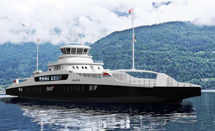 Dos ferries eléctricos para Noruega