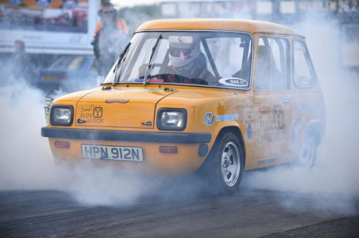 Enfield 8000, back to smash speed record