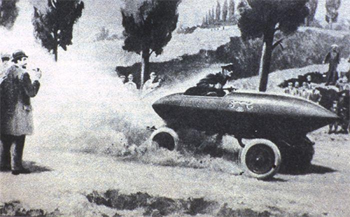 El primer coche en alcanzar los 100 km/h fue eléctrico